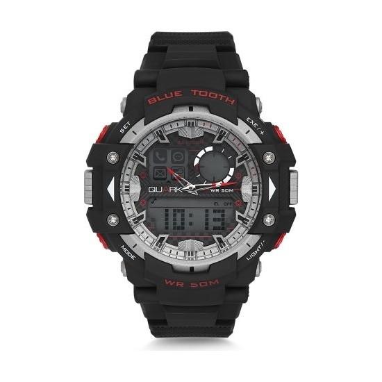 Quark Analog Dijital Qu-14653-01 Akıllı Kol Saati Smartwatch
