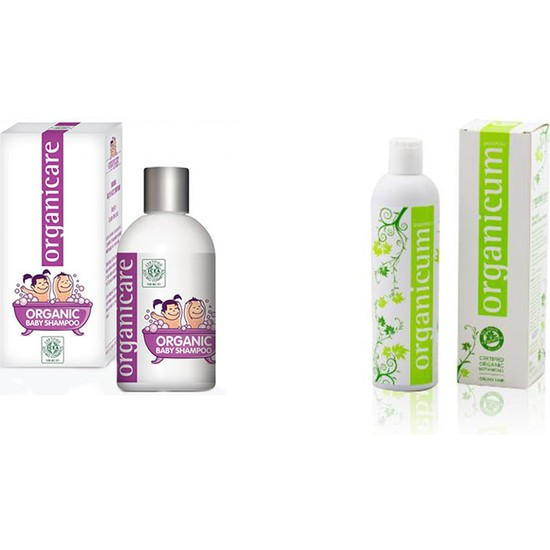 Organicare Bebek Şampuan + Organicum Yağlı Saçlar