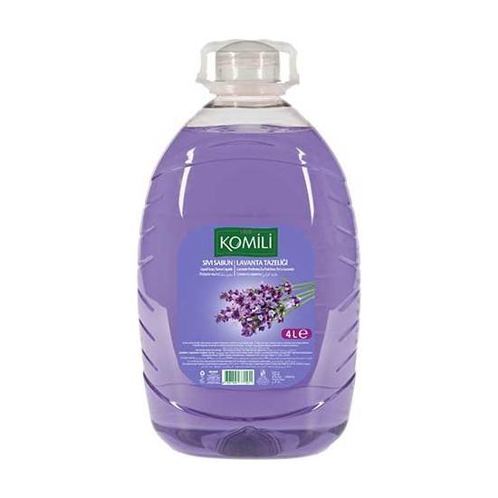 Komili Sıvı Sabun Lavanta Tazeliği 4 Lt