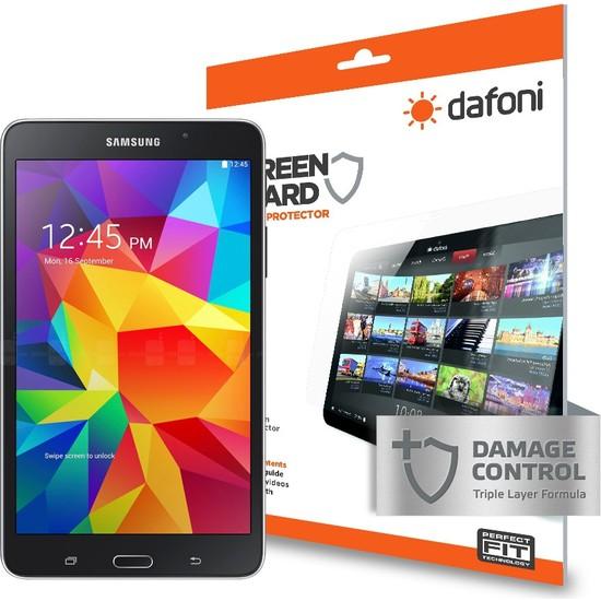 Dafoni Samsung Galaxy Tab 4 7.0 Darbe Emici Ekran Koruyucu Film