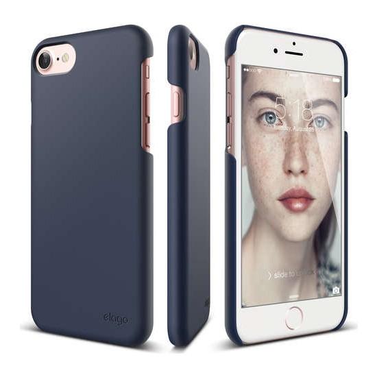 Elago iPhone 7 Kılıf Slim Fit 2 Lacivert