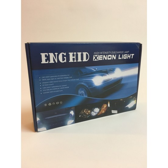 Eng Hid H3 8000 K Xenon Set H3 Zenon Far Seti