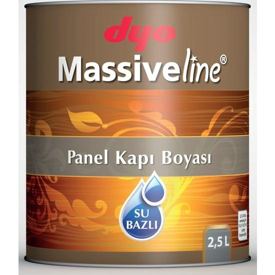 Dyo Massiveline Su Bazlı Panel Kapı Boyası 2,5Lt. Beyaz