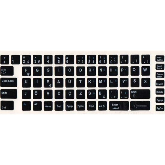 Notebook Uzman Türkçe F Klavye Sticker, Notebook Ve Pc Uyumlu