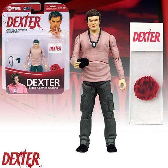 Big Bang Pow Dexter Blood Spatter Analyst Figür