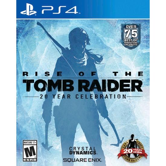 Rise of the Tomb Raider 20. Yıl Özel PS4 Oyun