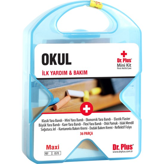 Dr Plus İlk Yardım Çantası Okul MiniKit