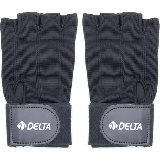 Delta Gees Bilek Bandajlı Ağırlık Body Dambıl Fitness Eldiveni