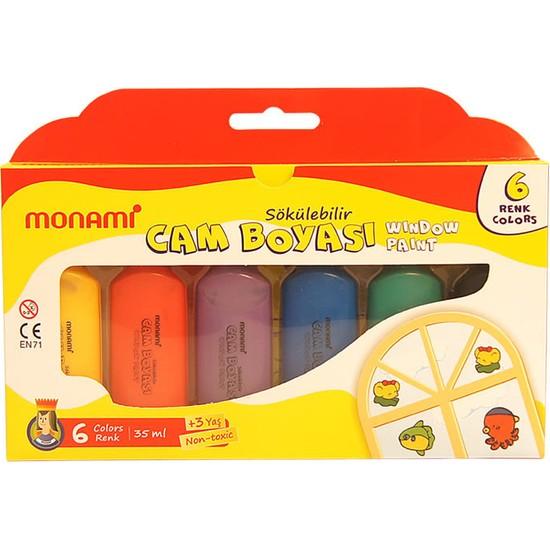 Monami Cam Boyası 6 Renk Normal