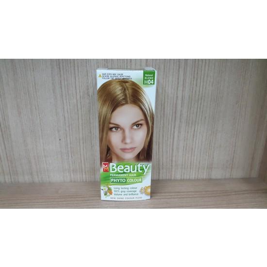 Mm Beauty Bitkisel Saç Boyası Doğal Sarı (Kumral) M04