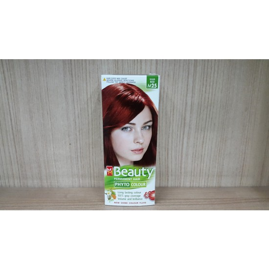 Mm Beauty Bitkisel Saç Boyası Renk Kızıl M25