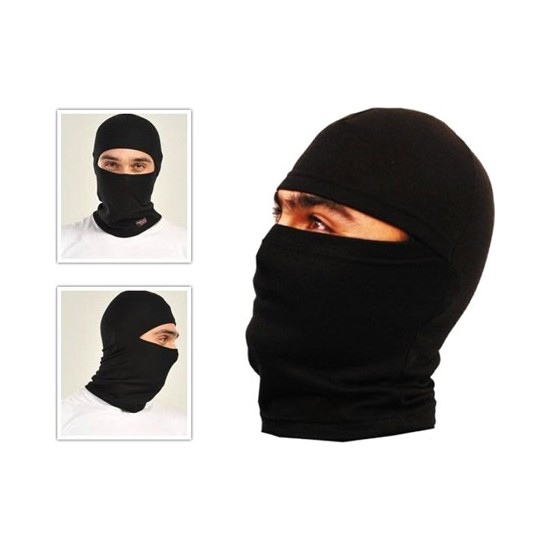 Pratik Termal Kar Maskesi Siyah