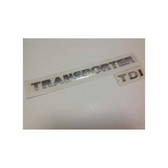 Oem Vw Transporter T5 Tdi Tek Kırmızı Bagaj Yazısızı