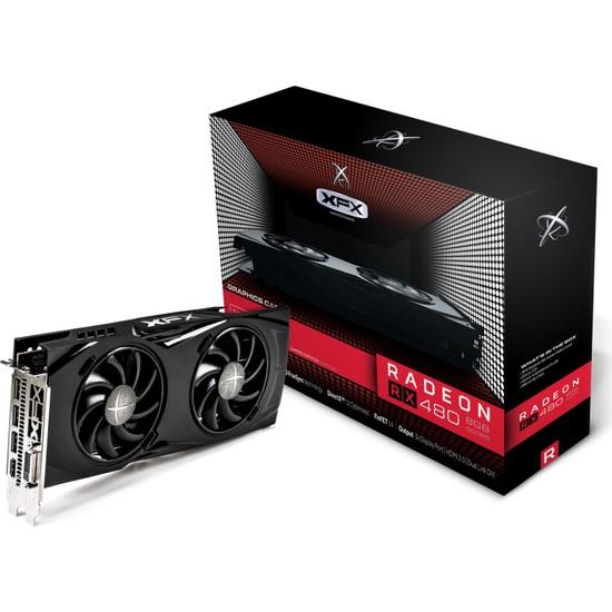XFX Amd Radeon RX 480 GTR Triple X Edition OC 8GB 256Bit GDDR5 (DX12) Ekran Kartı RX-480P8DFA6
