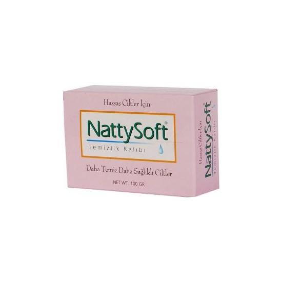 Nattysoft Hassas Ciltler İçin Temizleme Kalıbı 100 Gr