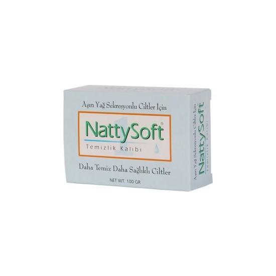 Nattysoft Aşırı Yağ Sekresyonlu Ciltler İçin Temizleme Kalıbı 100 Gr