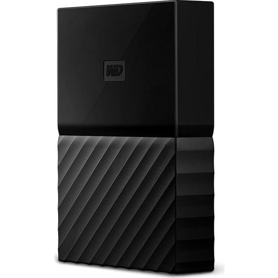 "WD My Passport 2TB2.5"" USB 3.0 Siyah Backup Taşınabilir Disk WDBS4B0020BBK-WESN"