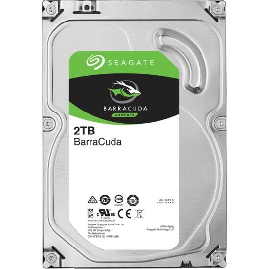 "Seagate Barracuda 2TB 3.5"" 7200PRM Sata 3.0 64MB Cache Sabit Disk ST2000DM006"