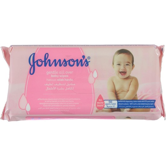 Johnsons Baby Johnsons Gentle Cleansing Islak Mendil