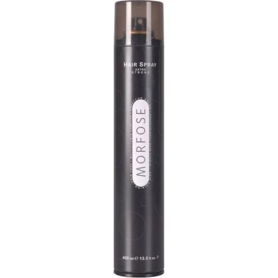 Morfose Hair Spray 750ML Ultra Sert Sıyah/Fınıshıng