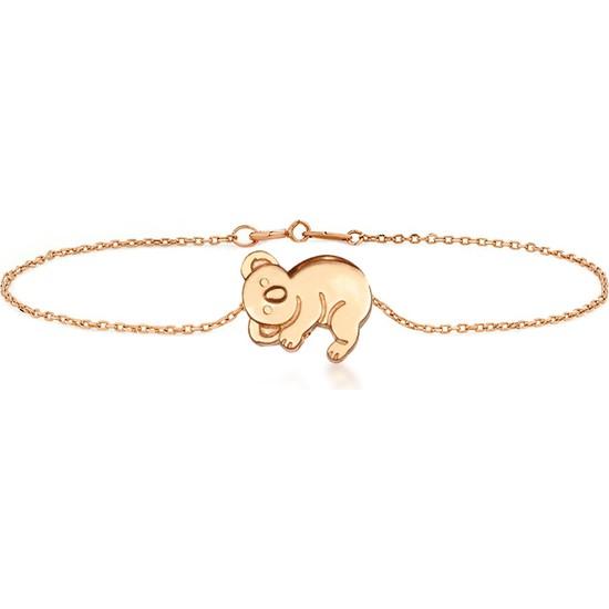 Goldstore 14 Ayar Altın Koala Bileklik Gb40287