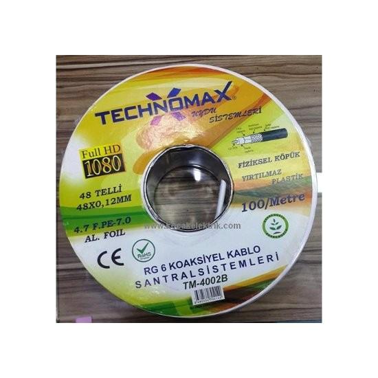 Technomax Rg6 Uydu Anten Kablosu 5 Metre