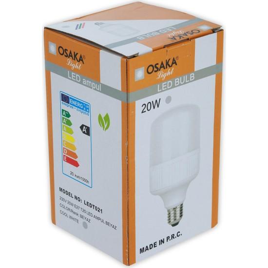Osakalight 20W Yüksek Watt Led Ampul E27 Beyaz