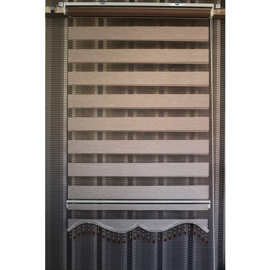 Techstor Avanos Serisi Deve Tüyü Rengi Zebra 40 x 200 cm