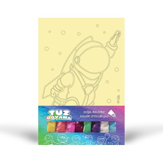 Astronot-1 Tuz Boyama KB-096