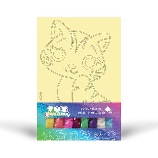 Kedi-3 Tuz Boyama KB-034