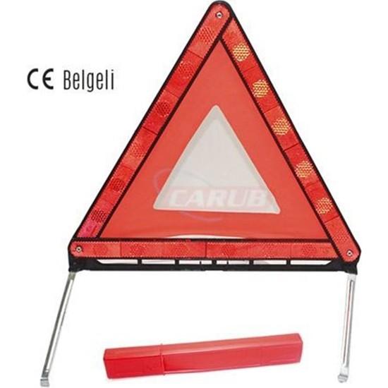 Carub Reflektör Üçgen E4 Belgeli