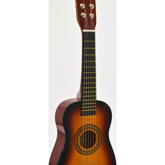 Çocuk Gitarı Ahşap Sunburst U202-SB Gonzales