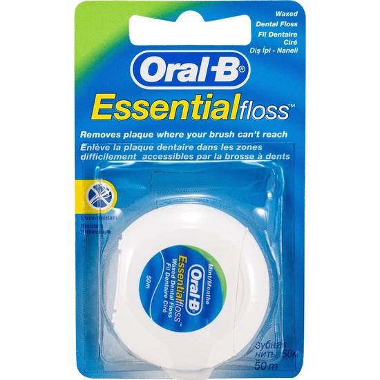 Oral-B Diş İpi Essential Floss 50 m