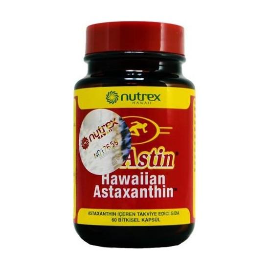 Nutrex Bioastin Hawaiian Astaxanthin 60Kapsül