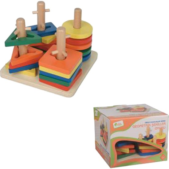 Edu-Toys Geometrik Şekiller Oyunu