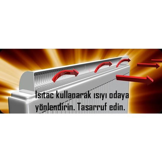Isıtaç Kalorifer Radyatör Alüminyum Isı Yönlendirici 100cm