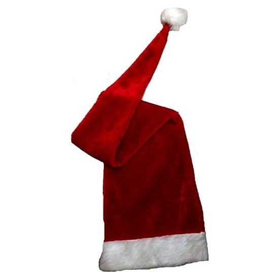 Kostümce Mega Boy Noel Baba Şapkası Polar 100 Cm