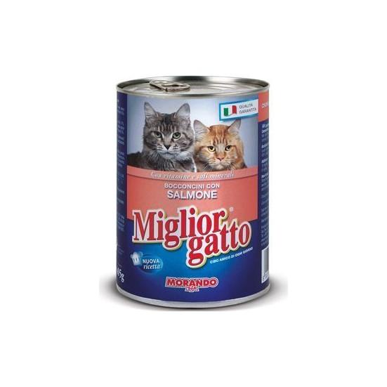 Miglior Gatto Somonlu Kedi Konservesi 405 Gr