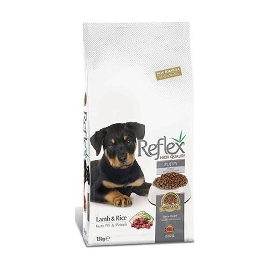 Reflex Kuzulu Pirinçli Yavru Köpek Maması 15 Kg