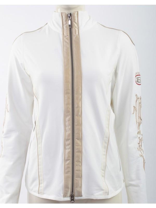 Emmegi - Katja/C Woman Jacket T1 Kadın Sweatshirt (White) Beyaz