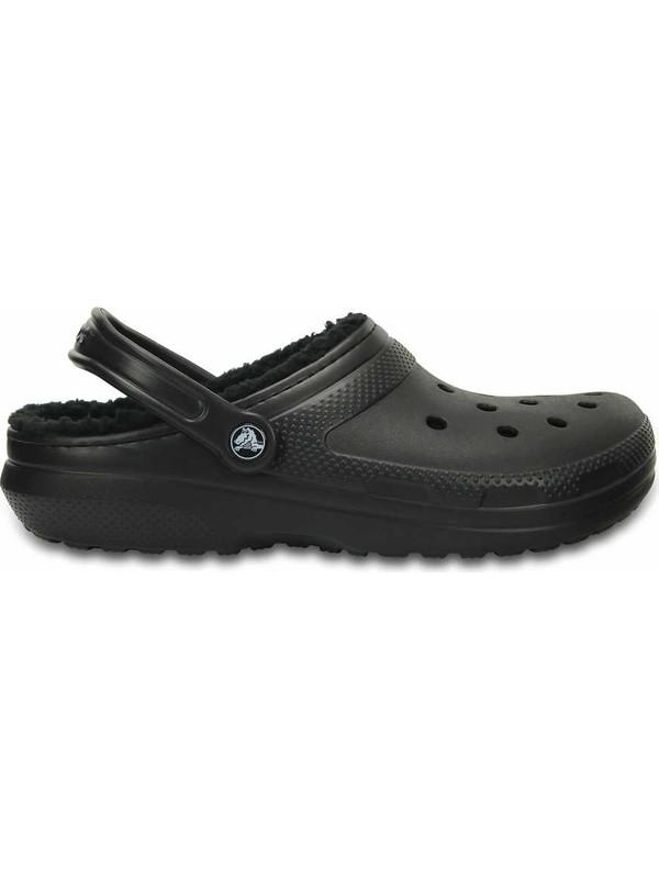 Crocs 203591-060 Classic Lined Clog Erkek Günlük Terlik
