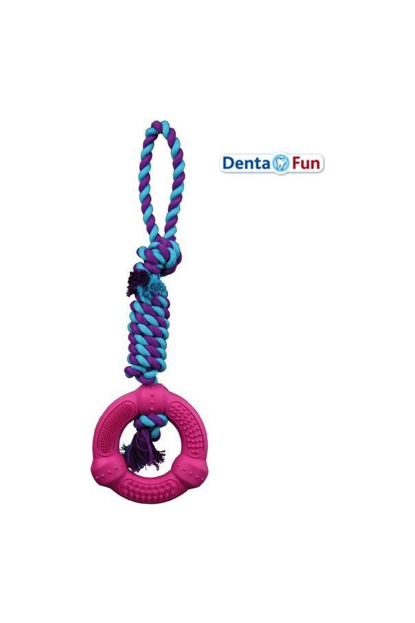 Trixie Rope Dog Toys 41 Cm Dental Care And Education