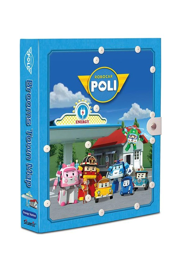 Robock Book Town Police Station Power Game Set