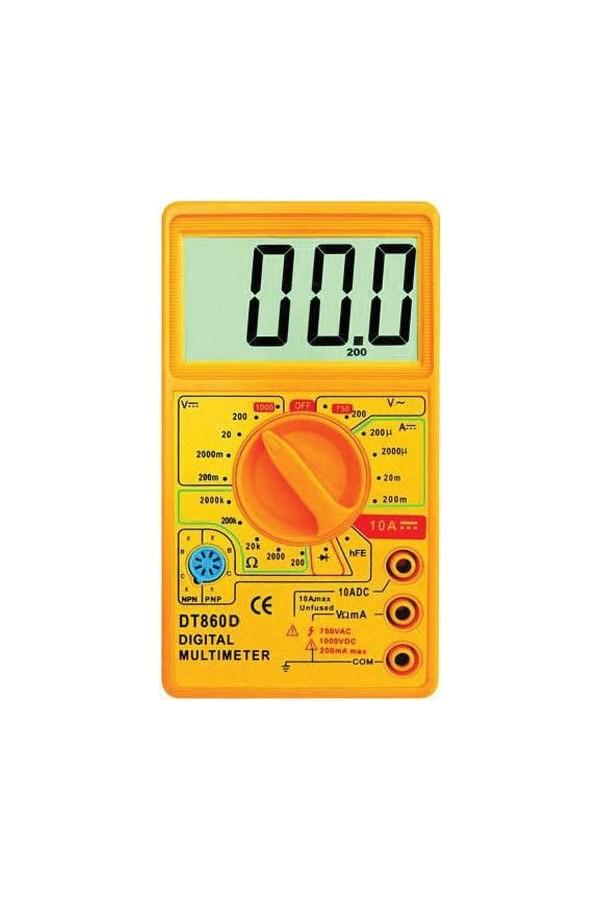 TT-تكنيك DT-860D أداة قياس رقمي متعدد المتر
