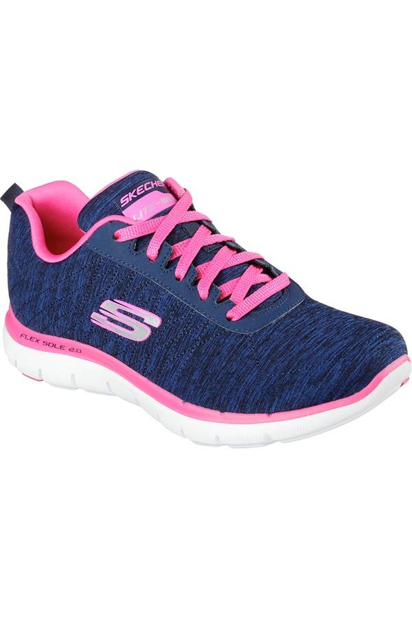 Skechers Flex Appeal 2.0 Kadın Spor Ayakkabı 12753-Nvpk