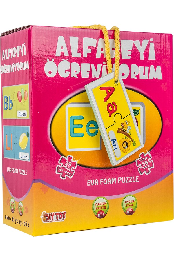 Diytoy I learn Alphabet Fun Puzzle