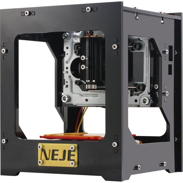 neje 1000mw cnc lazer gravür oyma makinası kullanıma hazır