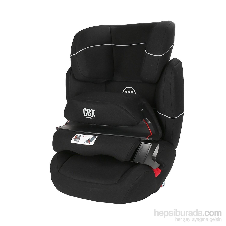 cybex aura fix 9 36 kg oto koltu u pure black fiyat. Black Bedroom Furniture Sets. Home Design Ideas