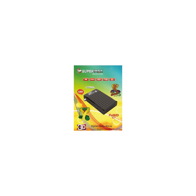 SuperMax MiniHD Cobra Uydu Alıcısı Fiyatı - Taksit Seçenekleri
