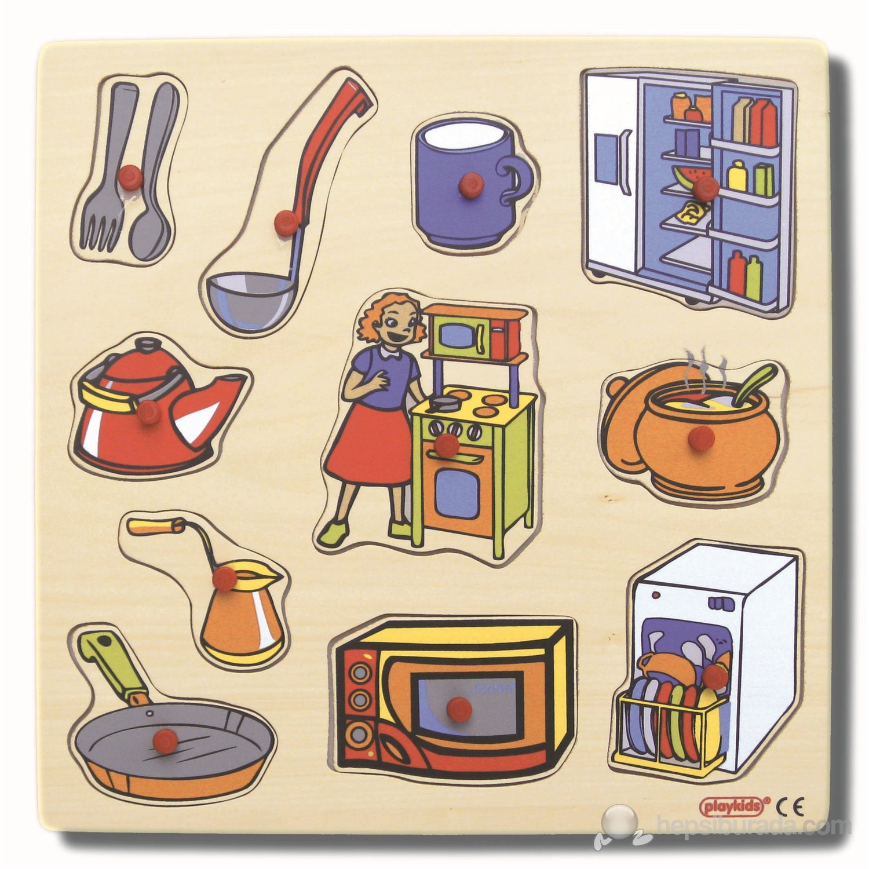 Mutfak için puzzle örnekleri